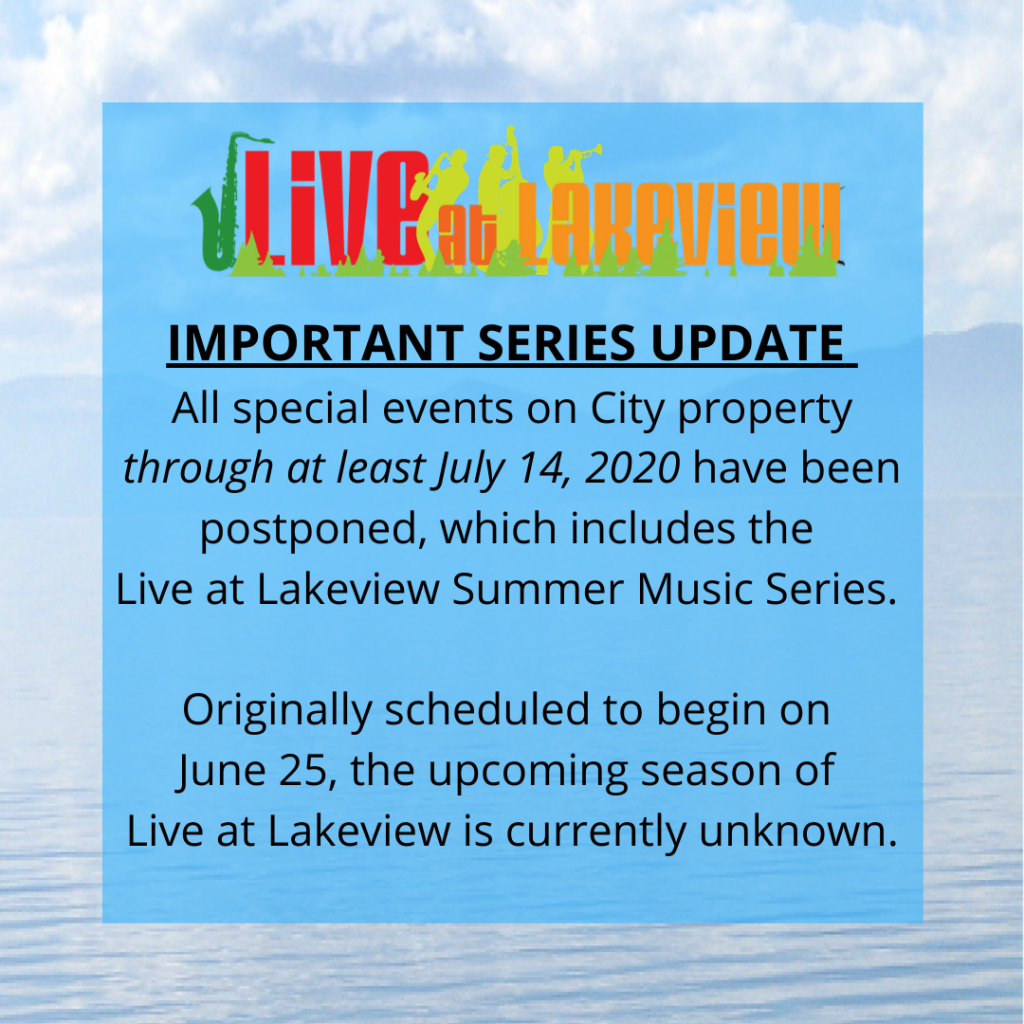 Live at Lakeview Series Update (1)