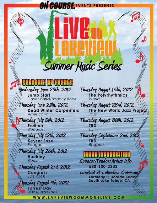 Summer Music Series, South Lake Tahoe