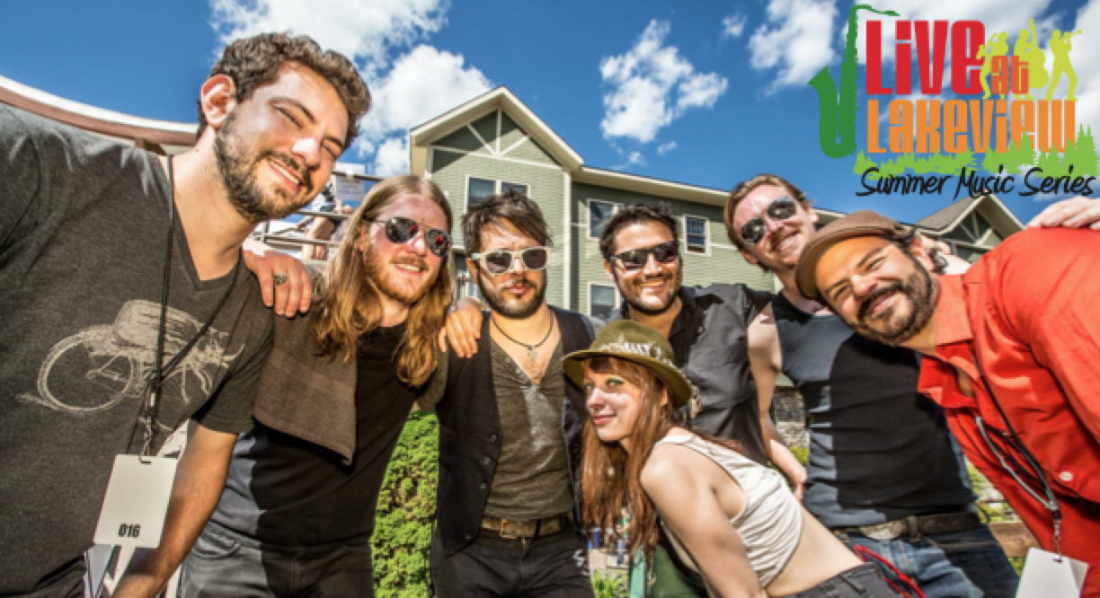 Sister Sparrow & The Dirty Birds w/ Merrygold | July 31, 2014 @ Lakeview Commons | South Lake Tahoe | California | United States