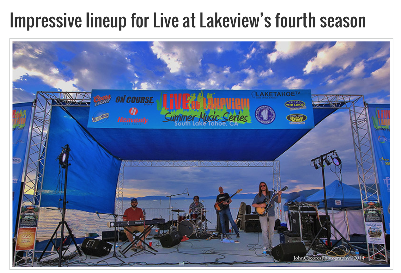 2015 Lineup Announcement on TahoeOnstage.com